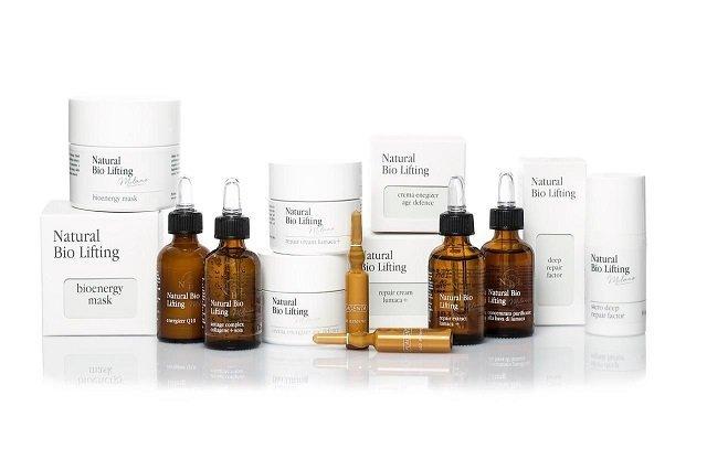 Prodotti cosmetici professionali NaturalBioLifiting creati da Joanna Hakimova